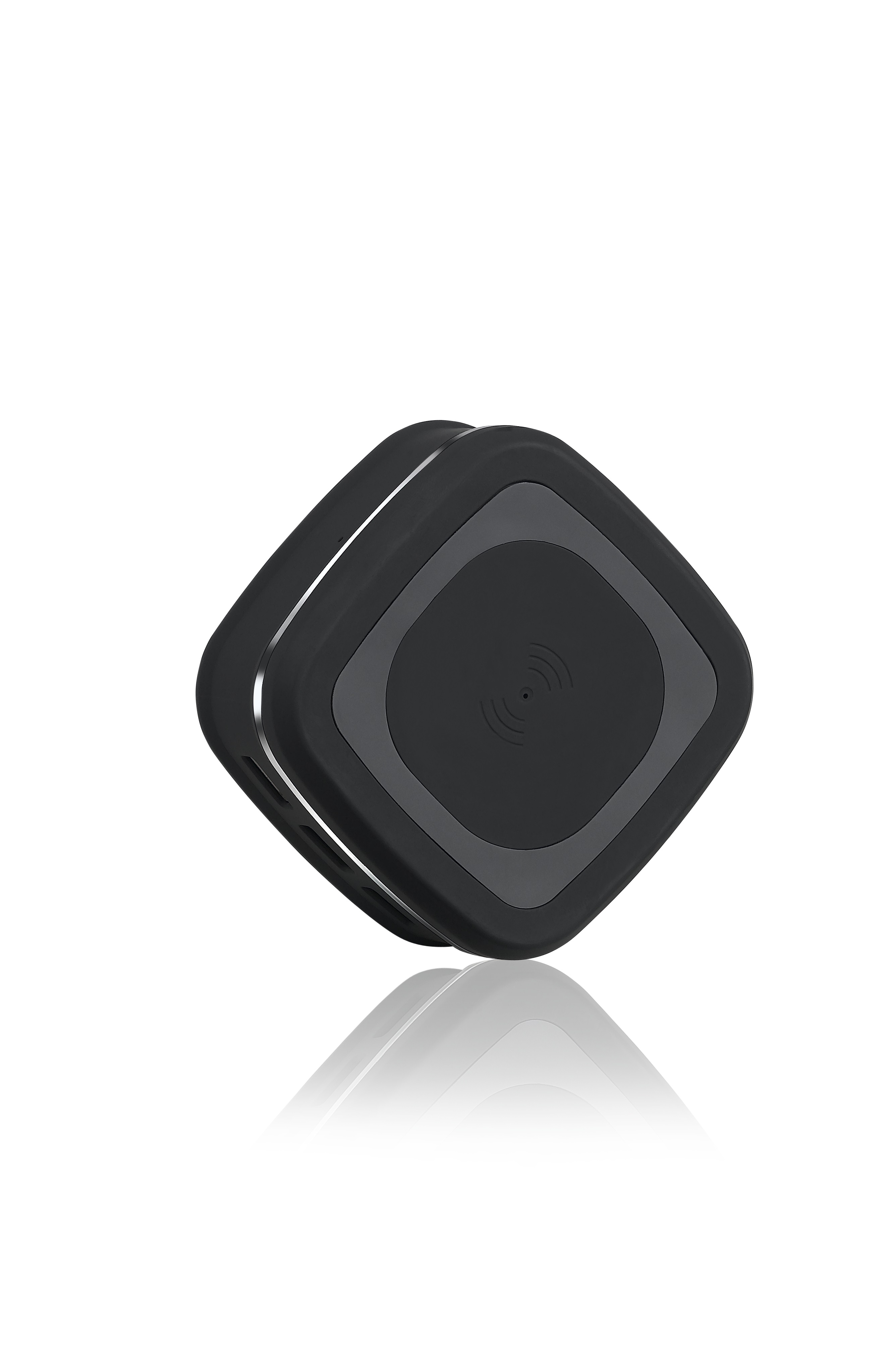 qi charger wireless ladestation komp mit iphone 10. Black Bedroom Furniture Sets. Home Design Ideas